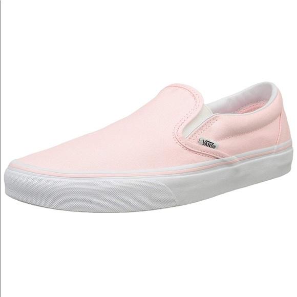 Baby Pink Slip On Vans | Poshmark